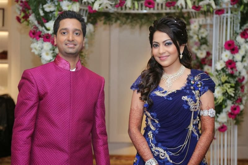 Anchor Ramya Wedding Reception Stills