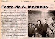 FESTA E MAGUSTO DE S. MARTINHO