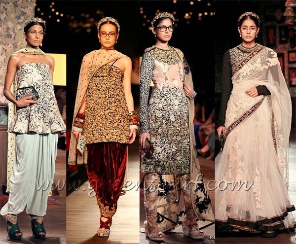 2013-2014 trend designer sabiyasachi saree