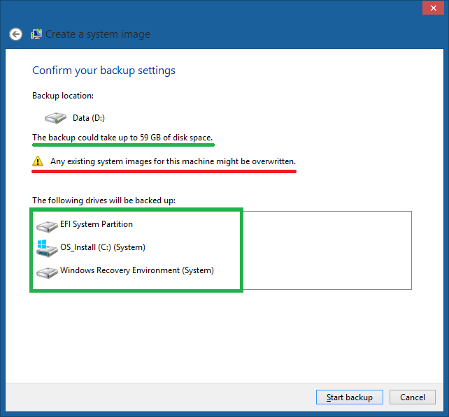 Cara Backup / Membuat System Image di Windows 8.1