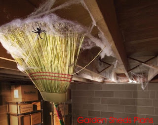 How to Keep Spiders Out From Your Garden Sheds