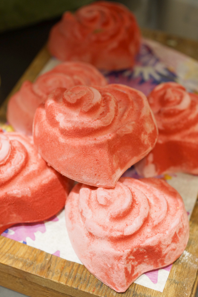Hello Freckles LUSH Valentines Day Range  Rose Soap