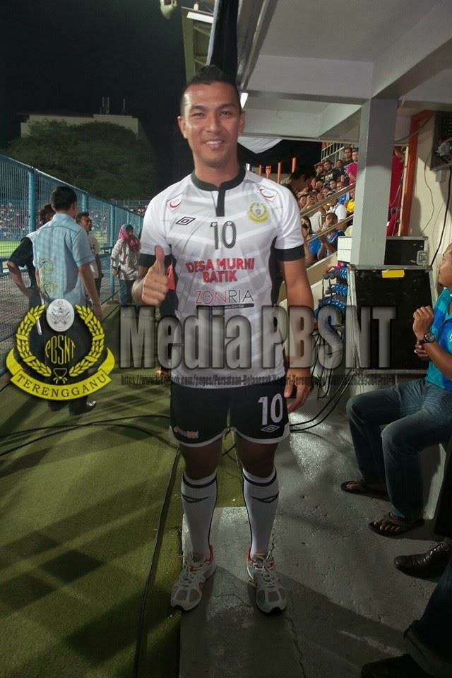 Jersi Pasukan Bola Sepak Negeri Terengganu  2014