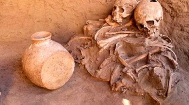 2,000 year old burials discovered in South Kazakhstan