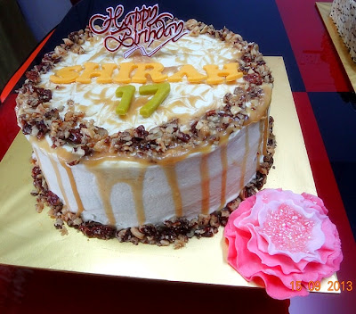 Beautiful image of resepi butterscotch cake