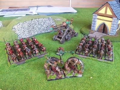 Skaven army paint ejercito skaven pintado