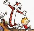 Calvin & Hobbes.