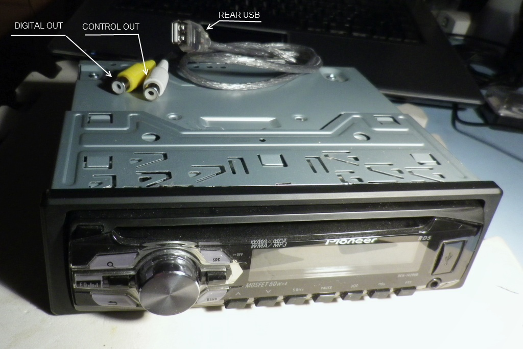 Назову его Pioneer DEH-1420UB