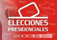 Resultados ONPE Elecciones Presidenciales 2011