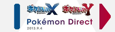 Pokemon Direct 4 Sep 2013