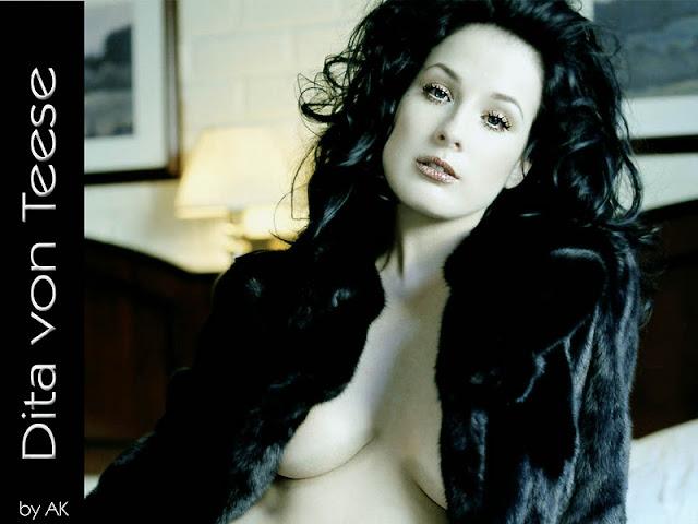 American Actress Dita Von Teese
