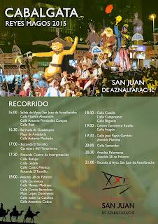 Cabalgata de Reyes - San Juan de Aznalfarache 2015