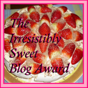 My Blog is Irresistibly Sweet