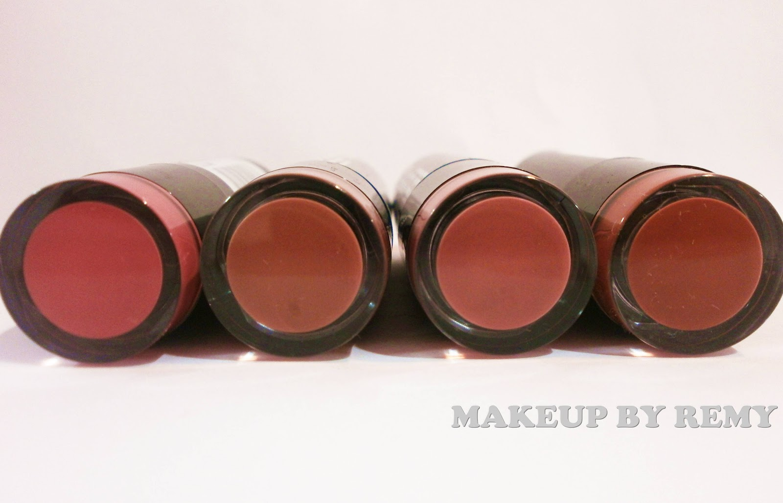 Makeup By Remy: Nyx Round Lipsticks-Review and Swatches