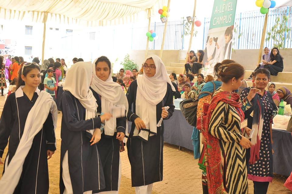 open day fare at dawood public school Pakistan
