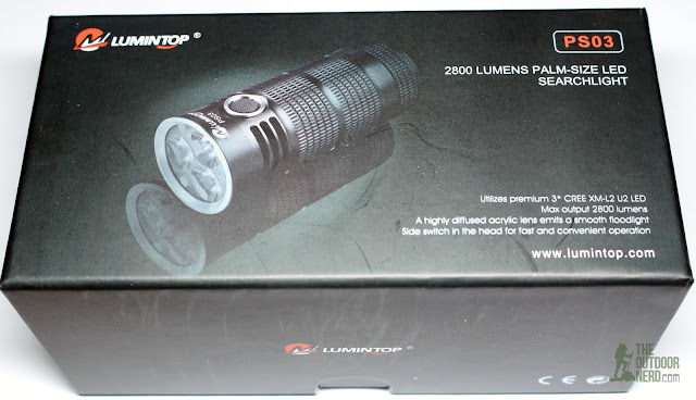 Lumintop PS03 4x18650 Flashlight - In Box 1