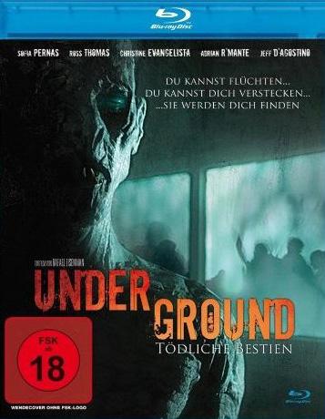 Underground (2011) BluRay 720p BRRip 550MB