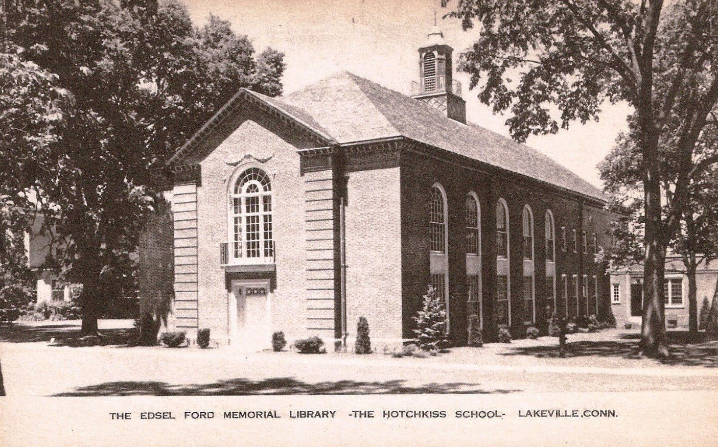 Benson Ford House Library Postcards October 2014