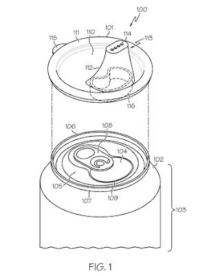U.S. Patent #8,286,827: Figure 1