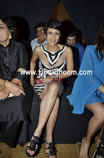 Mandira Bedi Spotted at Lakme Fashion Week 2014
