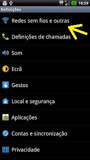 Rede sem fio celular LG maximo true HD LTE(P936)