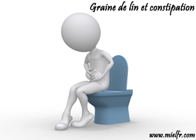 Graine de lin et constipation
