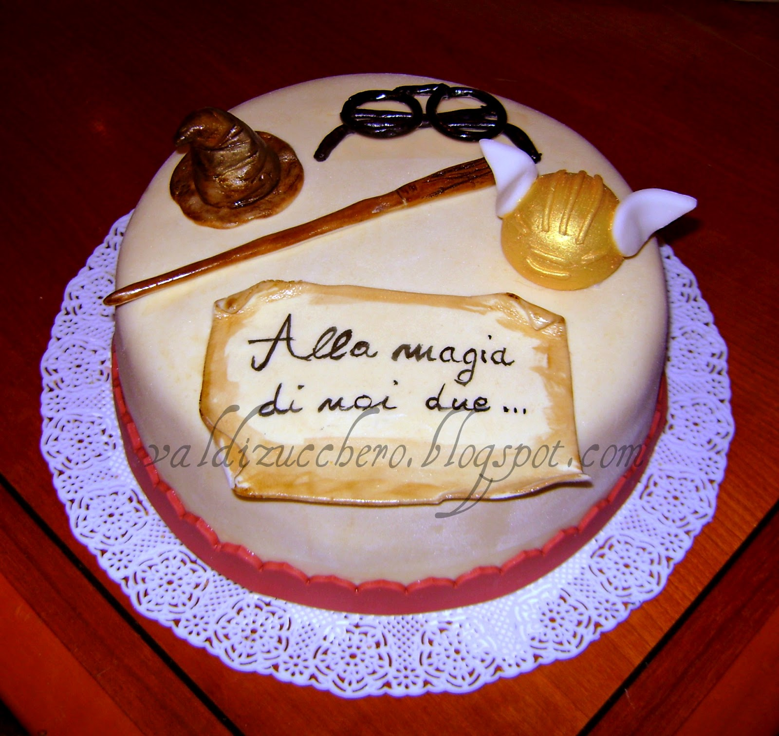 val di zucchero harry potter cake. Black Bedroom Furniture Sets. Home Design Ideas