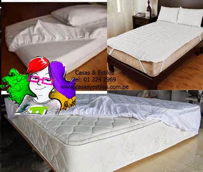 Sabanas y toallas hoteleras protectores de colch n - Protectores impermeables para colchones ...