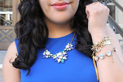 Statement Necklace and Arm Party