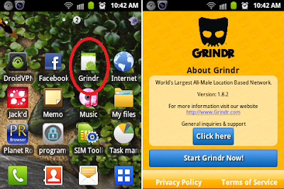grindr 1.8.2 apk unsupported not compatible device galaxy y