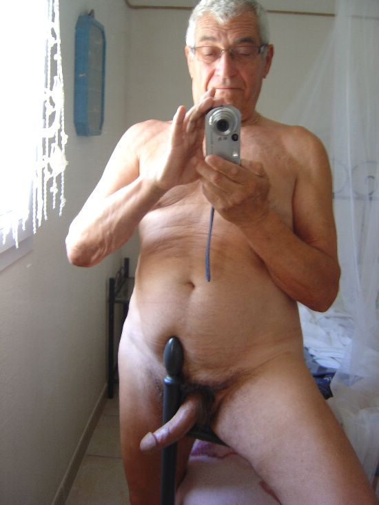 naked older gay men