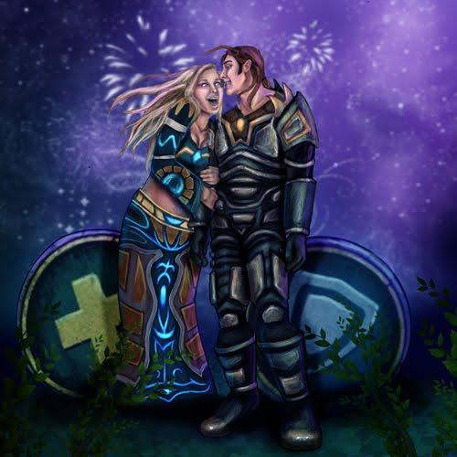 Geek Romance - Heals + Tank = True Love
