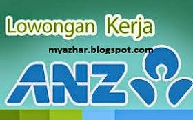 lowongan kerja pt bank anz indonesia terbaru