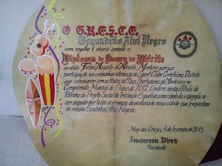 Esboço do Diploma - Nanquim e tinta acrílica - do atleta Felipe