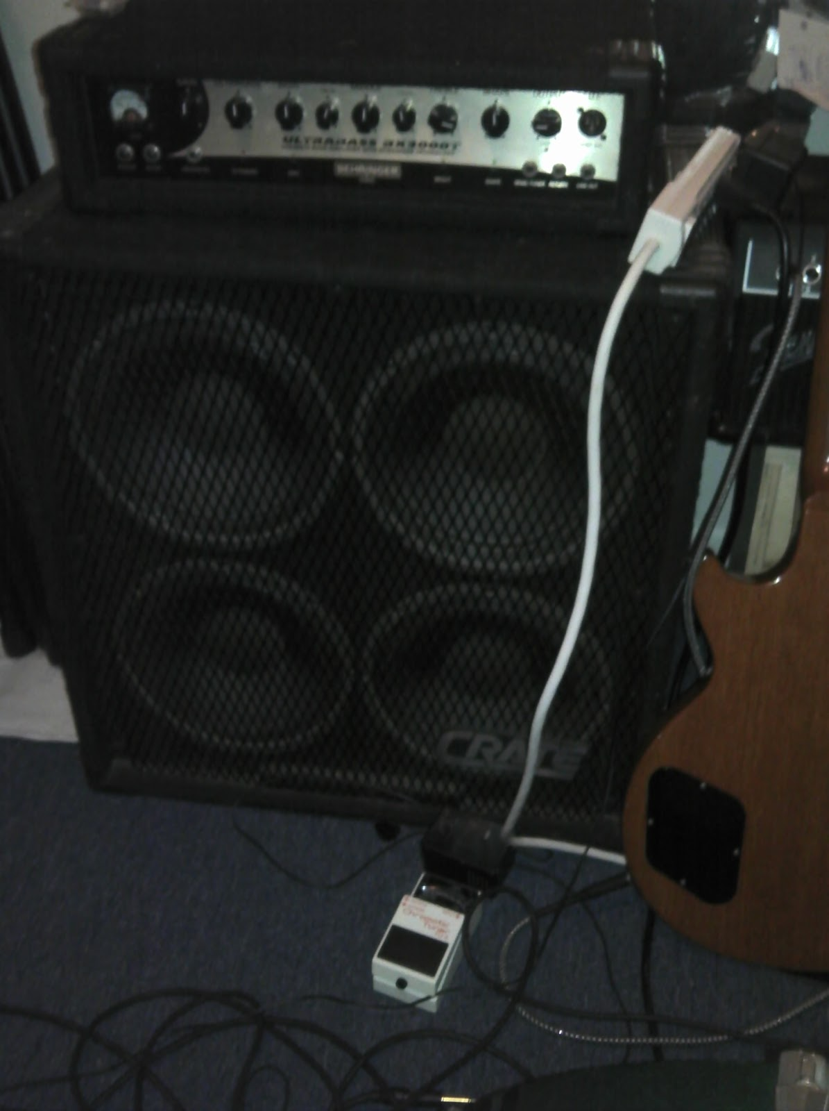 crate 4x10 bass cab