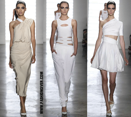 Cushnie Et Ochs. Mercedes Benz Fashion Week 2014
