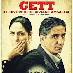 Poster Gett, le procès de Viviane Amsalem 2014