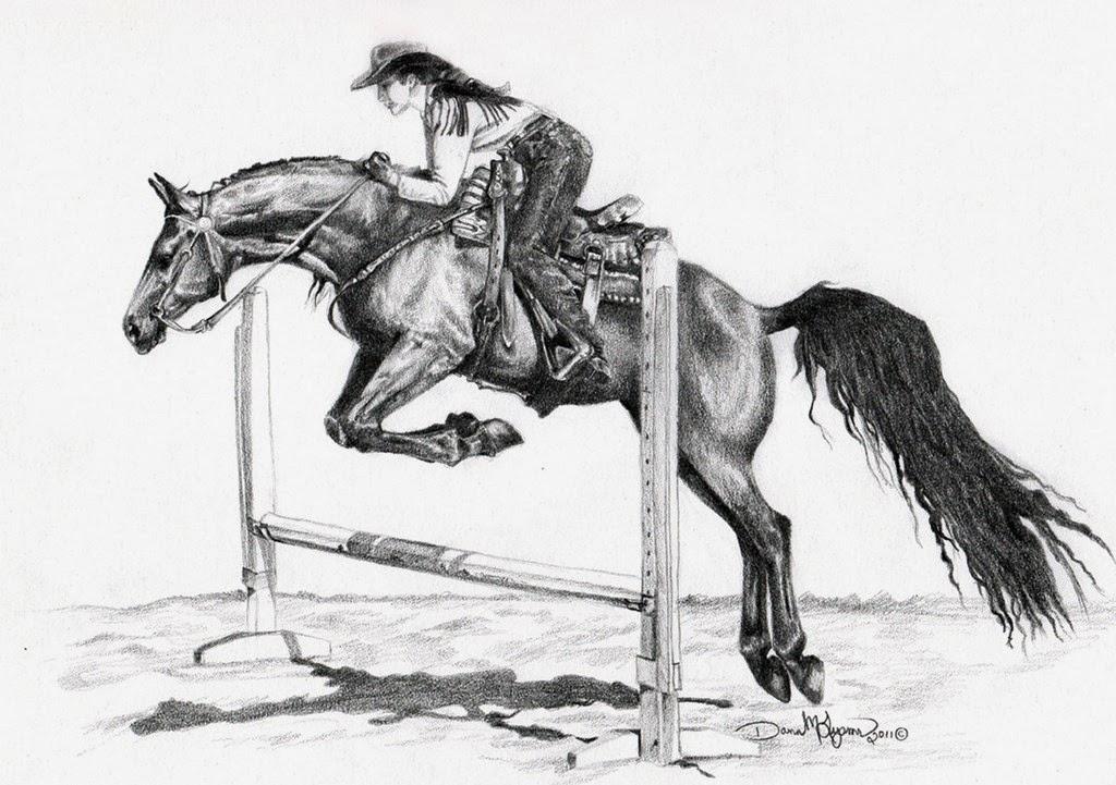 dibujos-caballos-lapiz