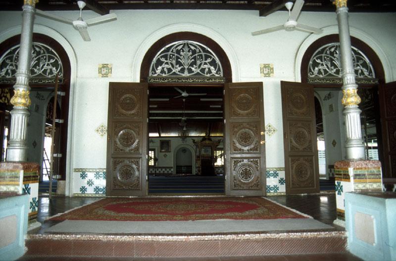 Sayang melaka history tranquerah mosque for Balcony history
