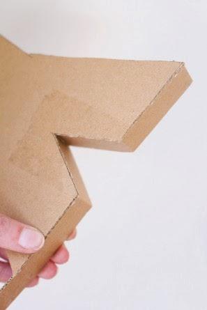 Κουτάκια δώρου σε σχήμα γραμμάτων-οδηγίες