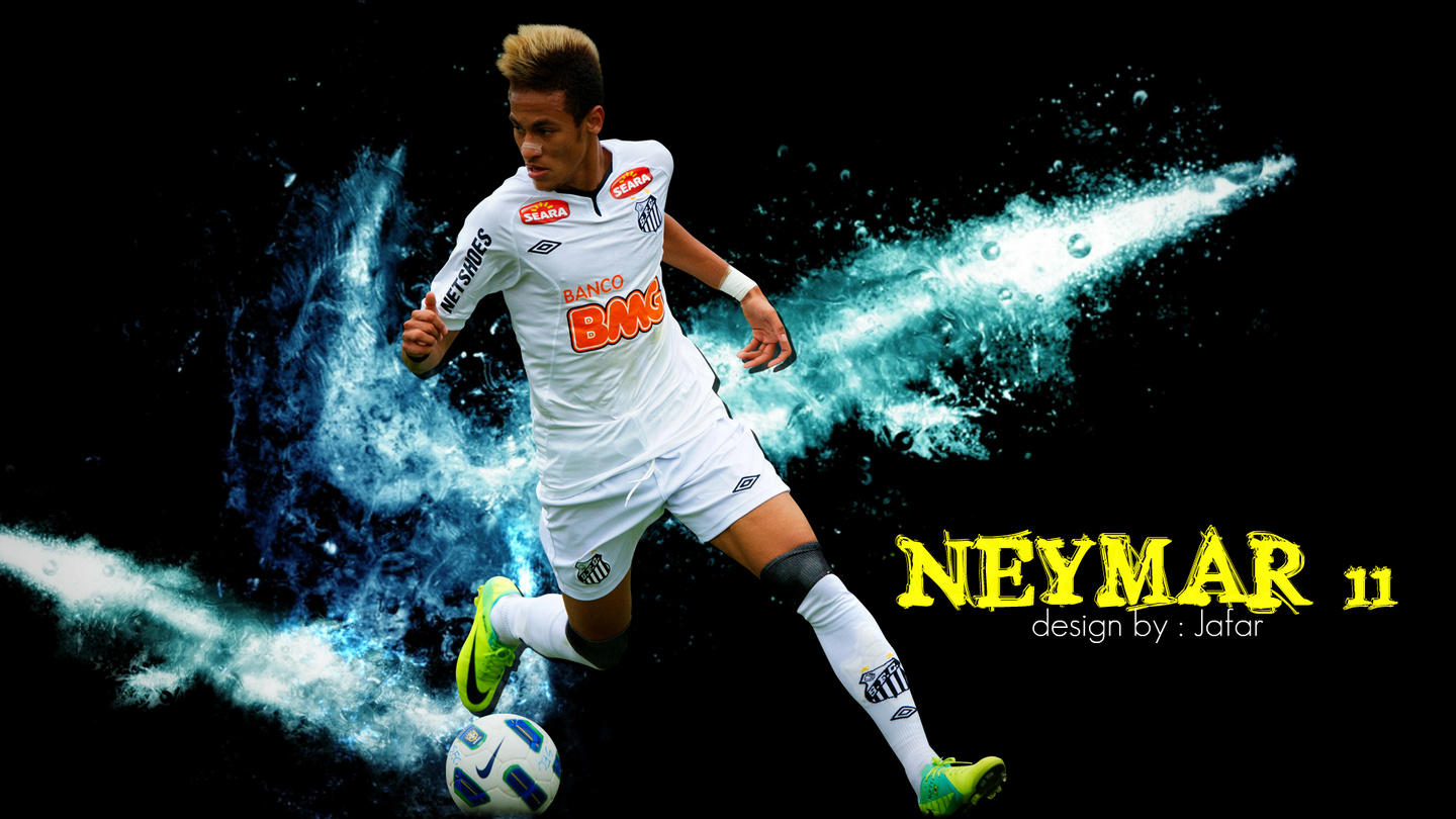 young sports stars: neymar hd wallpapers 2012