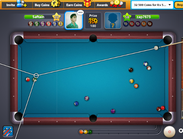How To Hack 8 Ball Pool Guide Lines By Saftain Azmat
