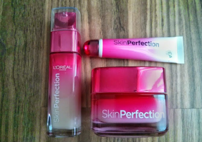 L' Oreal Paris Skin Perfection day moisturiser serum magic touch instant blur