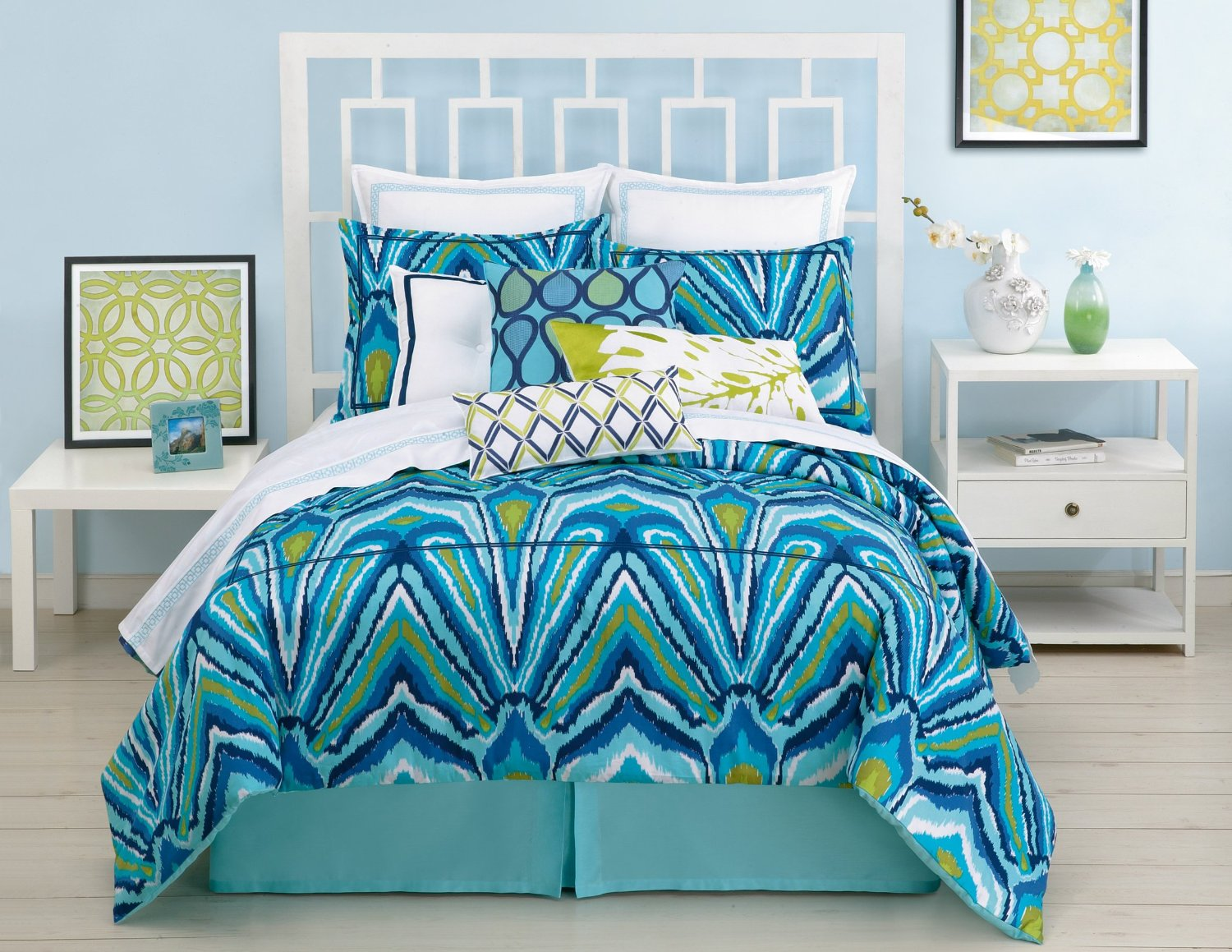 Peacock Comforter Set: Peacock Themed & Peacock Colored Comforter And Bedding Sets