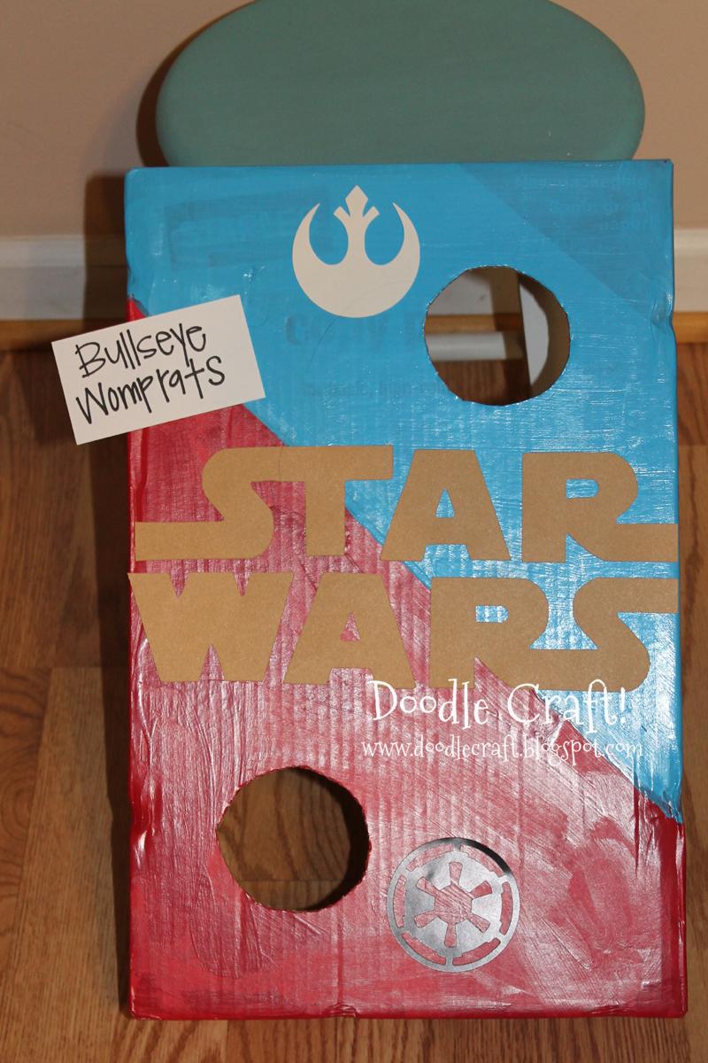 Doodlecraft Star Wars Bean Bag Toss