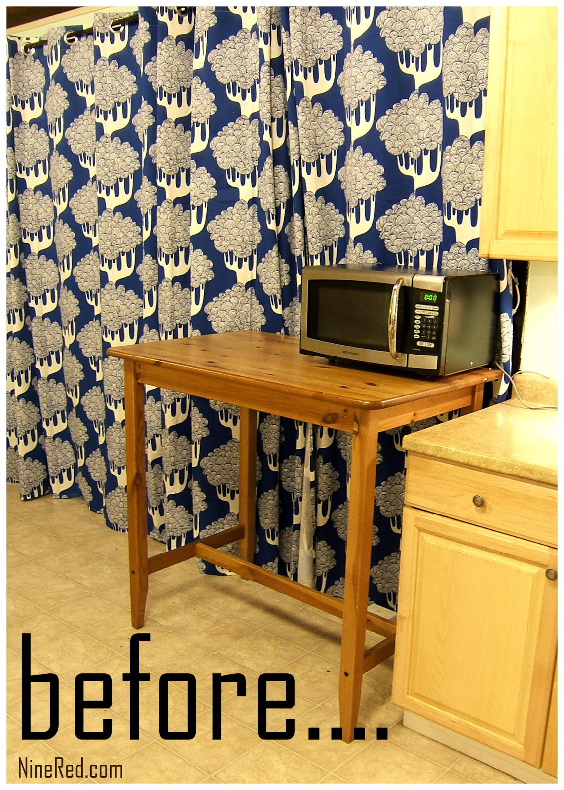 Nine Red: IKEA Hack: Cheap & Easy Kitchen Cart