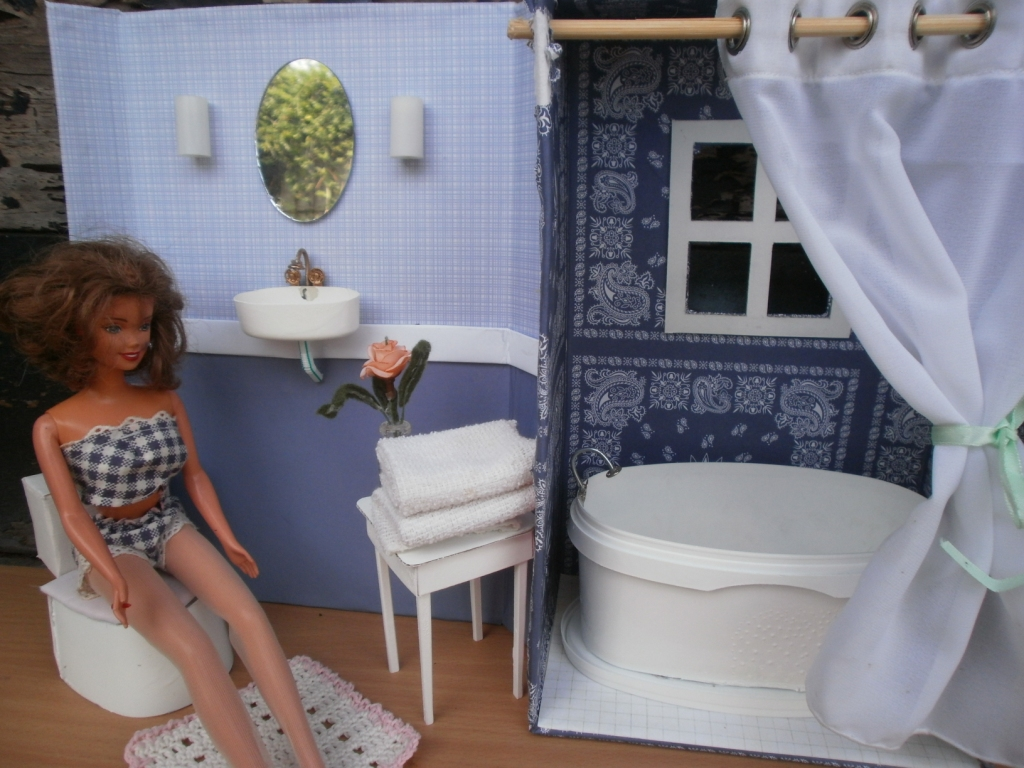 The Dancing Fingers DIY Barbie Furniture