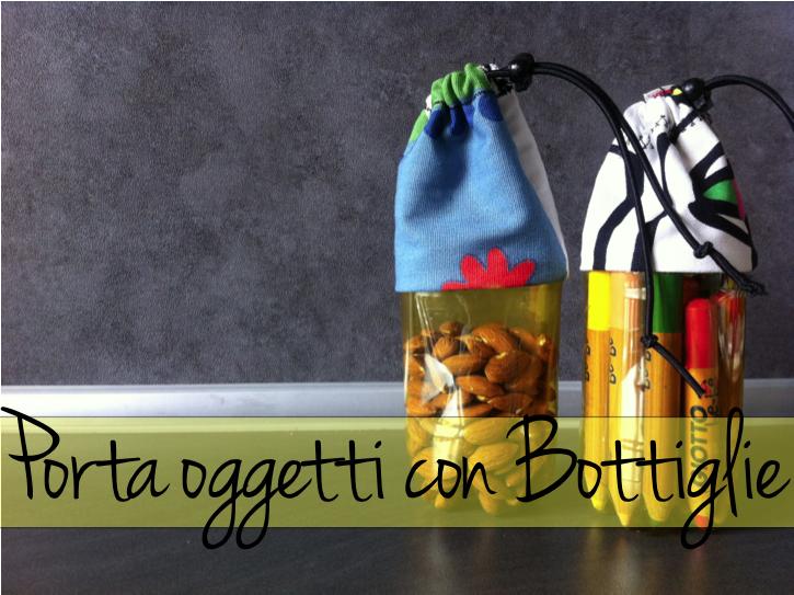 Porta oggetti con bottiglie - Porta bottiglie ...