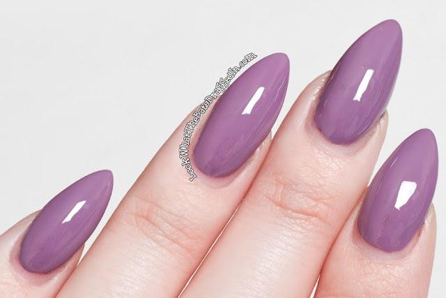 Illamasqua nail polish Velocity swatch
