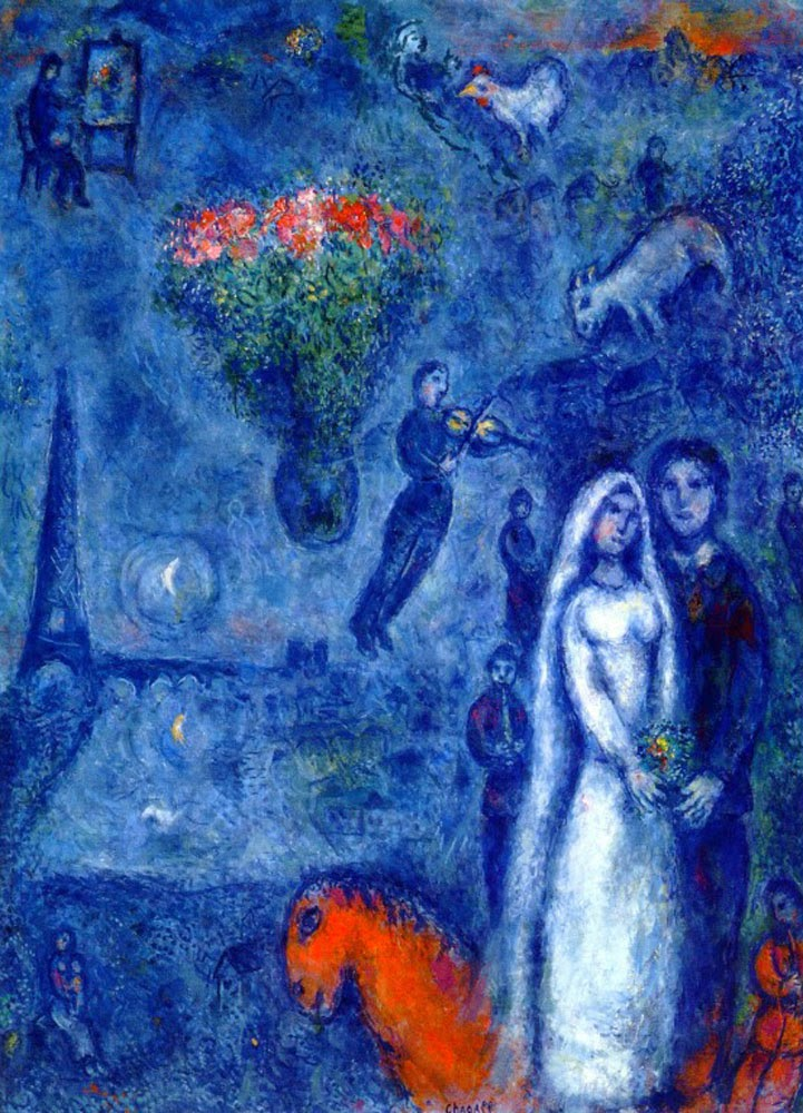 it 39 s about time lovers by russian born marc chagall his own words. Black Bedroom Furniture Sets. Home Design Ideas